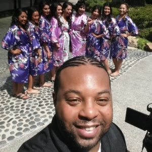 Selfie With Bridesmaids